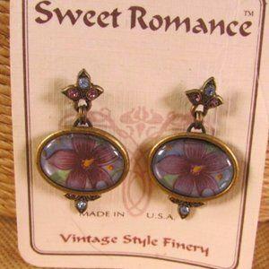 Sweet Romance  Forget Me Not Post Earrings